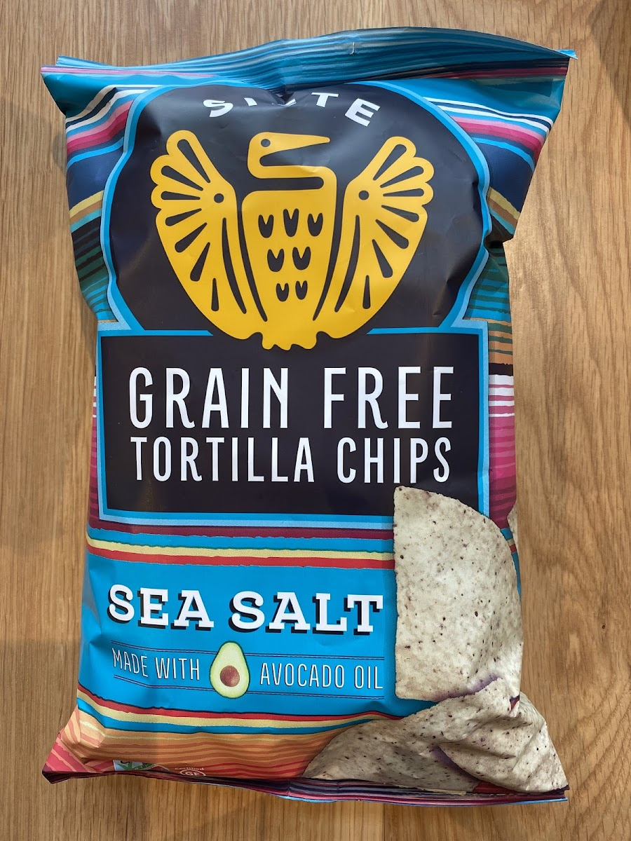 Grain Free Sea Salt Tortilla Chips