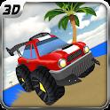 Crazy Beach Buggy Racer 4WD icon