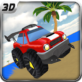Super Beach Buggy Racing Game