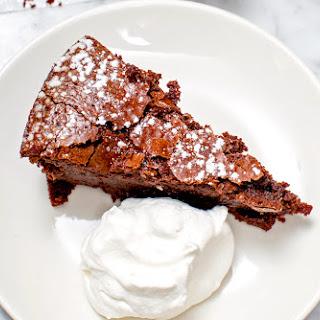 Flourless Chipotle Chocolate Cake.