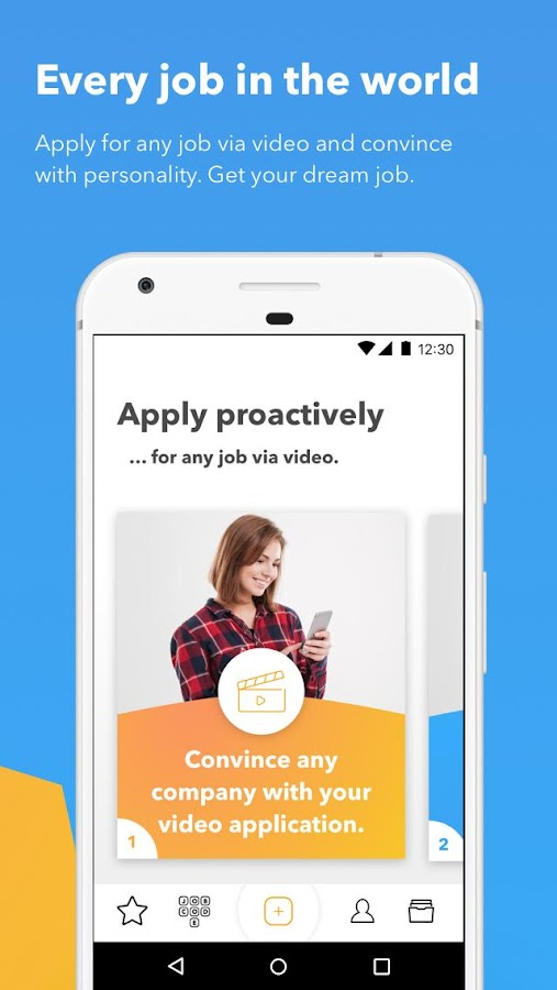 TALENTCUBE - Apply for any job via video.- screenshot