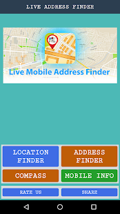 Live Mobile Address Finder - náhled