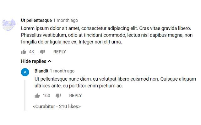 Better Youtube Replies