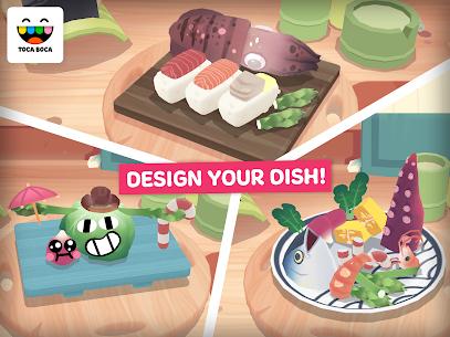 Toca Kitchen Sushi Restaurant Mod Apk 4
