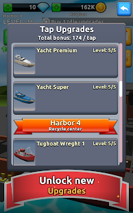 Harbor Tycoon Clicker- screenshot thumbnail