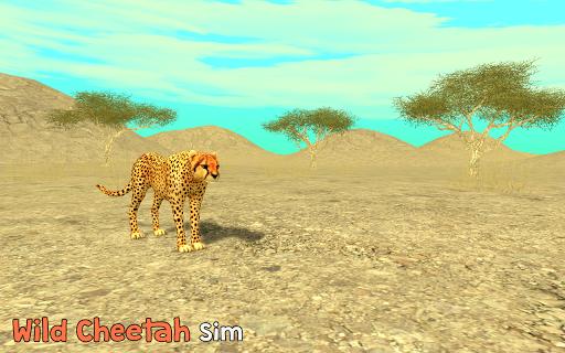 Wild Cheetah Sim 3D apkpoly screenshots 9