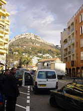 Photo: We have arrived in Vence, where the bus drops us off in a newer part of town, but some nice scenery not far away.