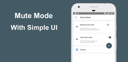 Mute the device with Super easy UI