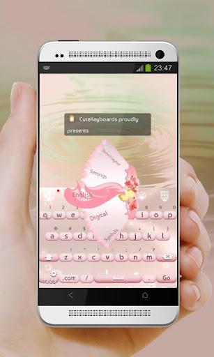 粉紅婚禮 GO Keyboard