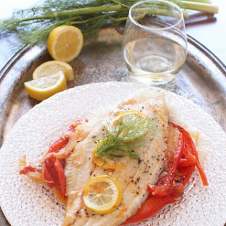 Catfish With Fennel And Tomatoes For One
