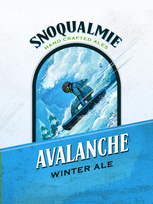 Logo of Snoqualmie Avalanche Ale