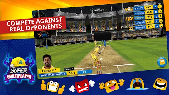 Chennai Super Kings Battle Of Chepauk 2 MOD (Ad Free/Unlimited Tickets) 5