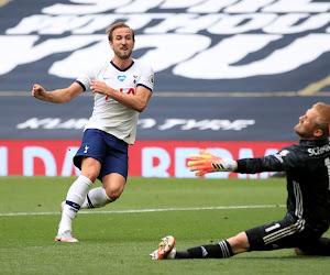 Tottenham inquiet après la sortie sur blessure de Kane