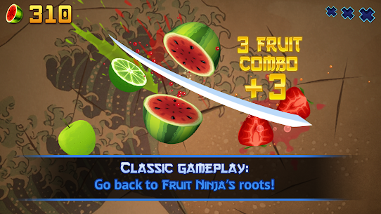 Fruit Ninja Classic MOD Apk 2.7.7 (Unlimited Money) 1