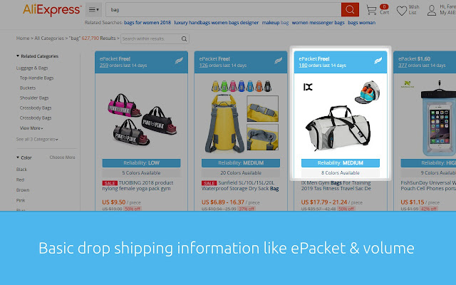download aliexpress product images firefox