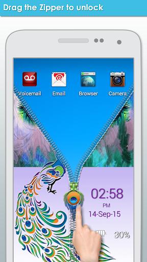 無料个人化Appのピーコックジッパーロック|記事Game