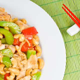 The Pioneer Woman's Cashew Chicken.