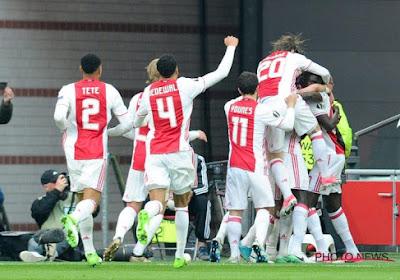 L'Ajax a un bon pied en finale !