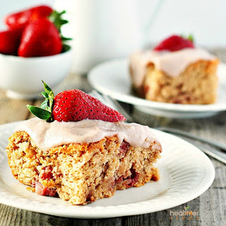 Strawberry Breakfast Cake.
