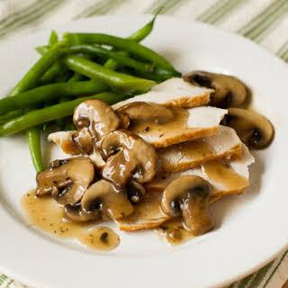 Easy Mushroom Gravy Sauce.