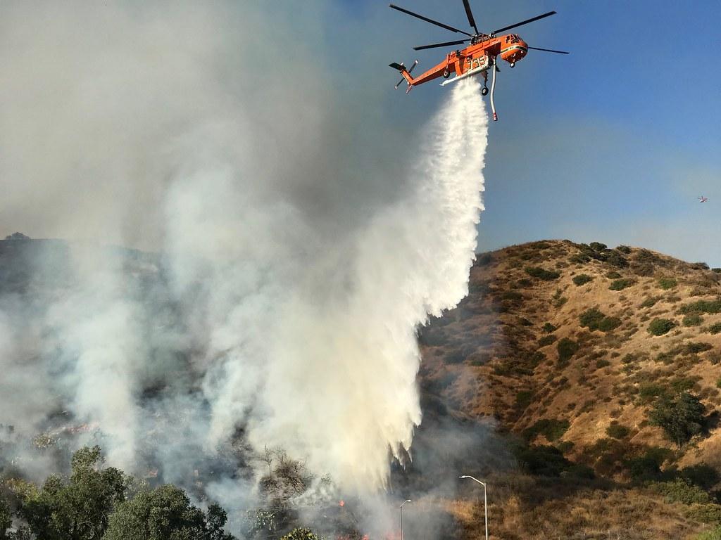 Teamwork Stops Brush Fire From Damaging Glendale Homes | Flickr