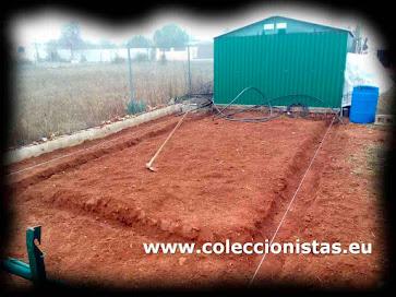 Coleccionistas.eu - Como montar un invernadero (Cimientos)
