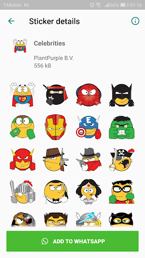 Emojidom stickers for WhatsApp free -WAStickerApps 2.11 Apk for Android 5