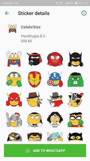 Emojidom stickers for WhatsApp free -WAStickerApps 2.11 screenshots 5