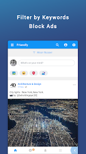 Friendly for Facebook (MOD, Unlocked/ Premium) v4.5.06 2