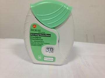 Incruse Ellipta 62.5 mcg   inhalador x 30 dosis