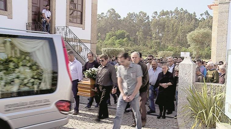 Dezenas no adeus a mais uma vítima em Lamego