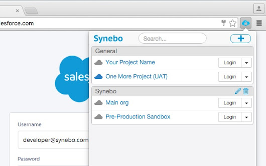 Salesforce Credentials Manager by Synebo