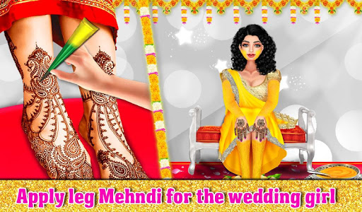 Indian Wedding Part1 - Love Marriage Beauty Salon android2mod screenshots 4