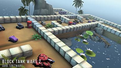 Block Tank Wars 2 screenshot thumbnail