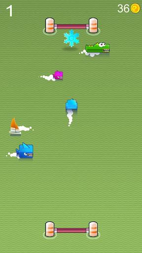 ペンギン愛水泳 -簡単ゲーム