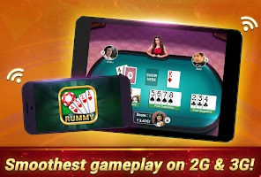 screenshot of Rummy Gold - 13 Card Indian Rummy Card Game Online