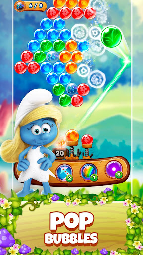Smurfs Bubble Shooter Story 2.15.050204 screenshots 1