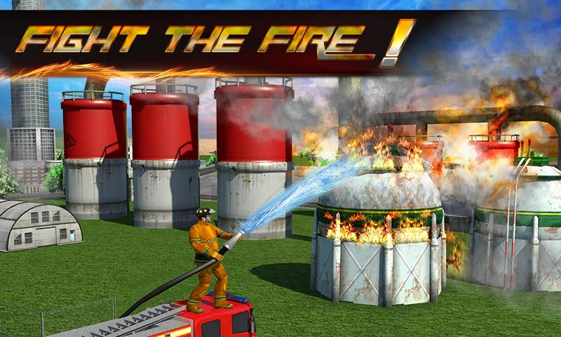 Firefighter 3D: The City Hero- screenshot