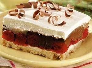 Black Forrest Dream Dessert Recipe