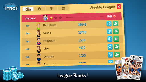 Multiplayer Tarot Game screenshot 4