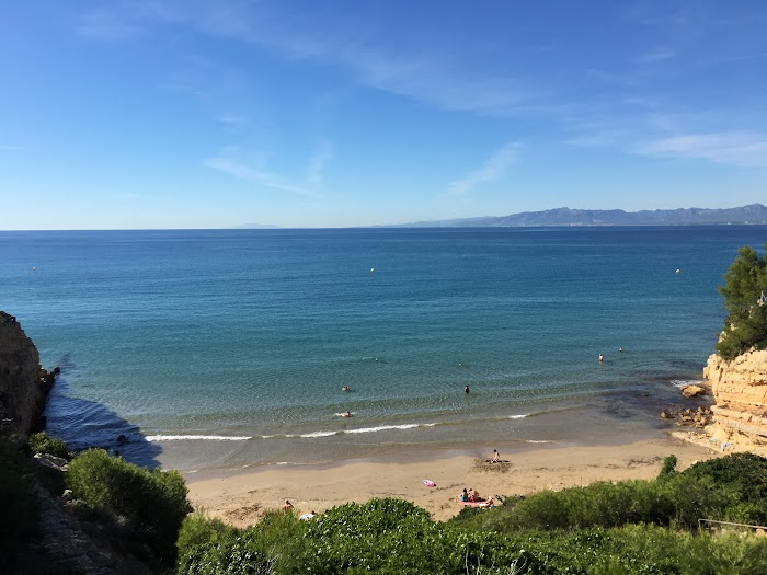 Het strand van Cala Penya Tallada  , Cap Salou