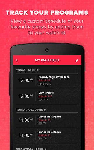 TV Times - TV Guide & TV Shows 1.2.1 screenshots 4