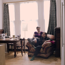 Photo: title: Luna Margherita Cardilli + Ljudmilla Socci, London, England date: 2014 relationship: friends, art, met through Demanio Marittimo  years known: 0-5