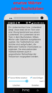 Lückentext Generator Pro Screenshot