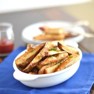Roasted Rosemary Russet Potato Wedges