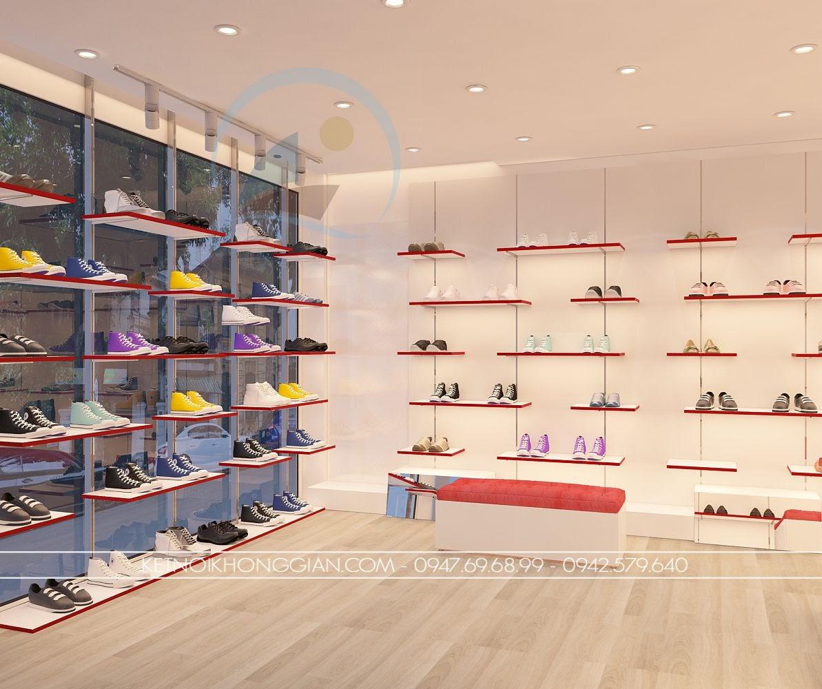thiết kế shop giày dép 3