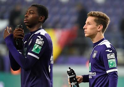 Anderlecht a de bonnes nouvelles pour la semaine prochaine: deux joueurs vont faire leur retour