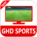 GHD SPORTS - Free Cricket Live TV GHD Guide icon