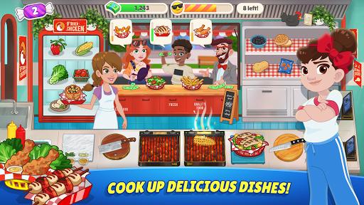 Télécharger Gratuit Kitchen Scramble 2: World Cook APK MOD (Astuce) screenshots 4