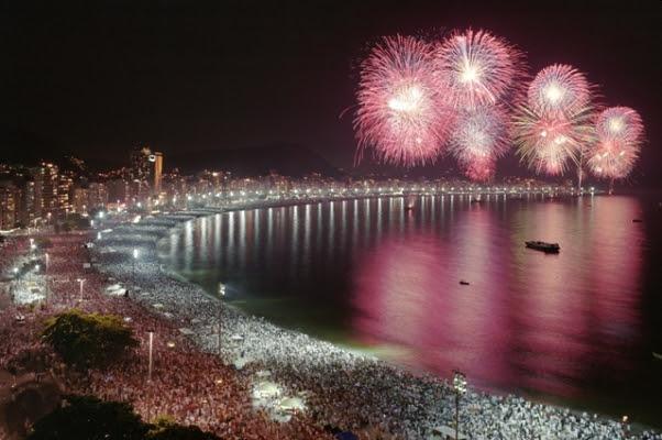 Réveillon no Rio de Janeiro